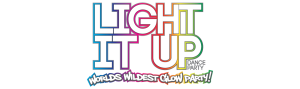 Main Logo for Light it Up Dance Party